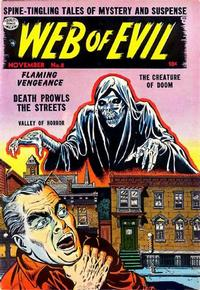 Cover Thumbnail for Web of Evil (Quality Comics, 1952 series) #8