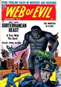 Cover Thumbnail for Web of Evil (Quality Comics, 1952 series) #9