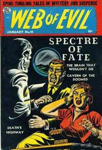 Cover Thumbnail for Web of Evil (Quality Comics, 1952 series) #10
