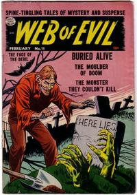 Cover Thumbnail for Web of Evil (Quality Comics, 1952 series) #11