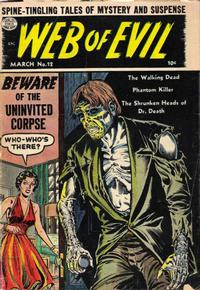 Cover Thumbnail for Web of Evil (Quality Comics, 1952 series) #12