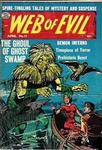 Cover Thumbnail for Web of Evil (Quality Comics, 1952 series) #13