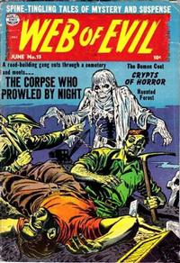 Cover Thumbnail for Web of Evil (Quality Comics, 1952 series) #15