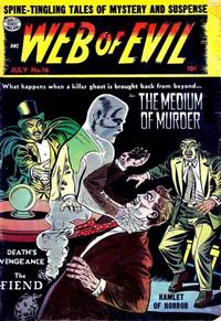 Cover Thumbnail for Web of Evil (Quality Comics, 1952 series) #16