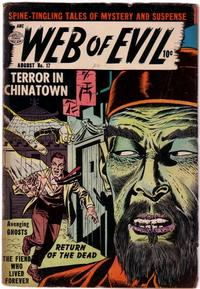 Cover Thumbnail for Web of Evil (Quality Comics, 1952 series) #17