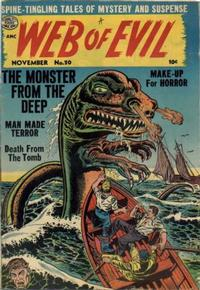 Cover Thumbnail for Web of Evil (Quality Comics, 1952 series) #20