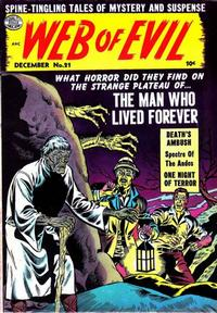 Cover Thumbnail for Web of Evil (Quality Comics, 1952 series) #21