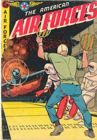 Cover Thumbnail for The American Air Forces (Magazine Enterprises, 1951 series) #12 [A-1 #91]