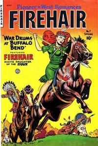 Cover Thumbnail for Firehair (Fiction House, 1951 series) #7