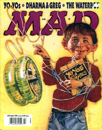 Cover for MAD (EC, 1952 series) #379
