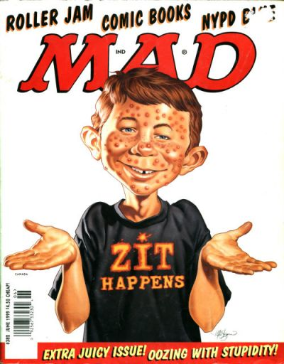 Cover for MAD (EC, 1952 series) #382