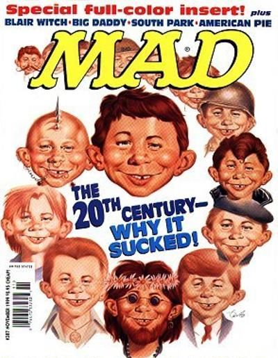 Cover for MAD (EC, 1952 series) #387