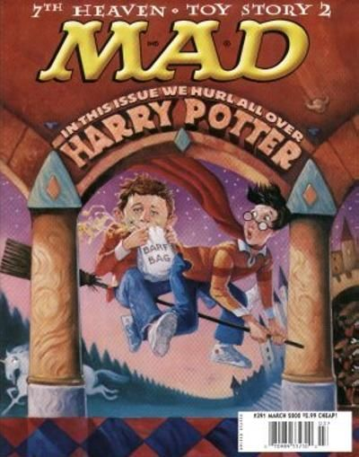 Cover for MAD (EC, 1952 series) #391