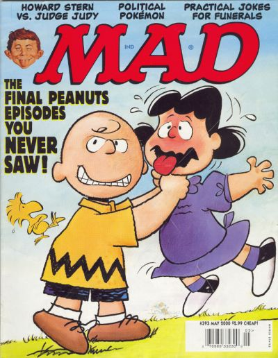 Cover for MAD (EC, 1952 series) #393