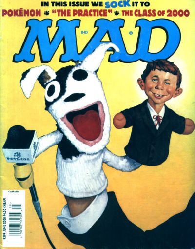 Cover for MAD (EC, 1952 series) #394