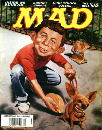 Cover for MAD (EC, 1952 series) #397