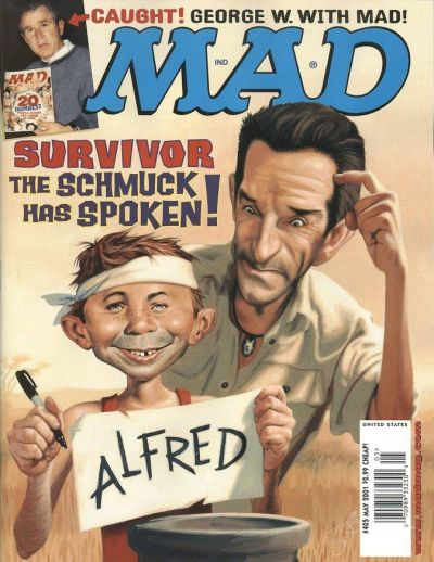 Cover for MAD (EC, 1952 series) #405
