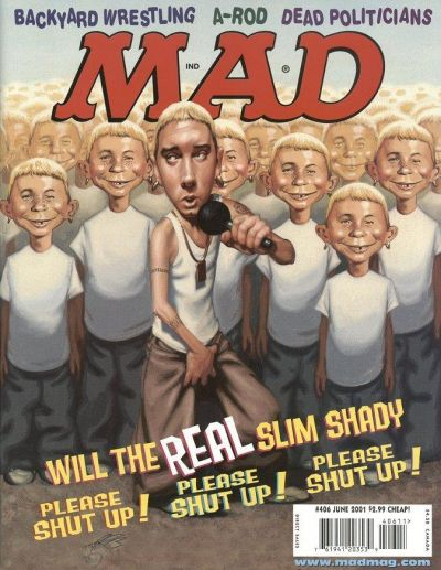 Cover for MAD (EC, 1952 series) #406