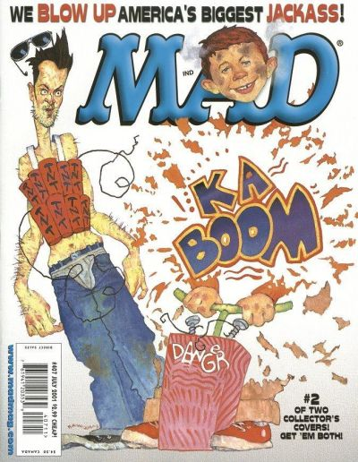 Cover for MAD (EC, 1952 series) #407