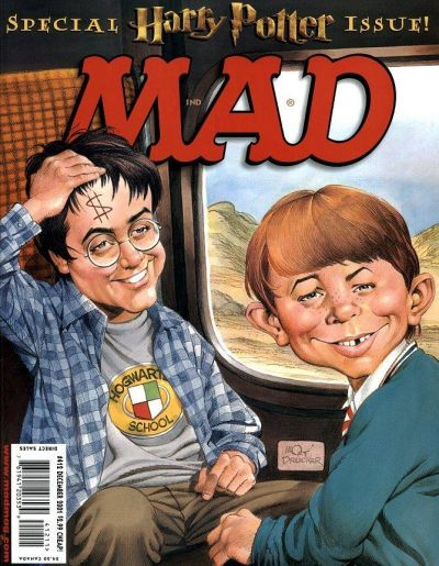 Cover for MAD (EC, 1952 series) #412