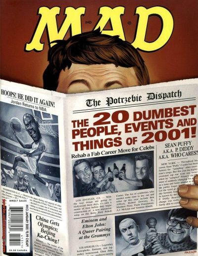Cover for MAD (EC, 1952 series) #413