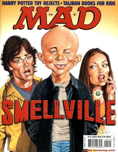 Cover for MAD (EC, 1952 series) #415