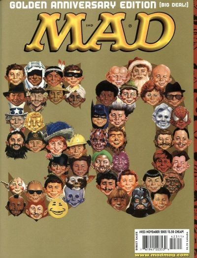 Cover for MAD (EC, 1952 series) #423