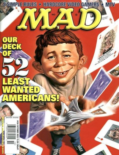 Cover for MAD (EC, 1952 series) #434