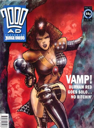 Cover for 2000 AD (Fleetway Publications, 1987 series) #762