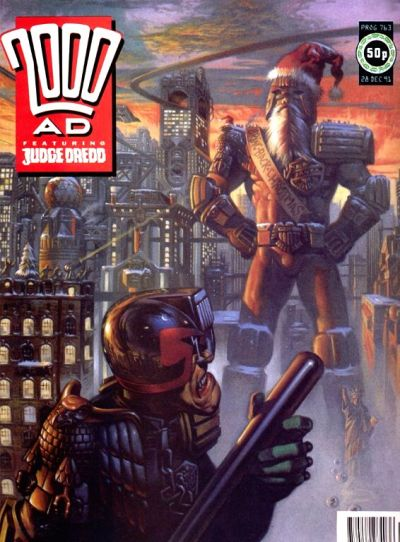Cover for 2000 AD (Fleetway Publications, 1987 series) #763