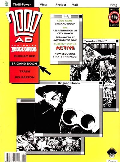 Cover for 2000 AD (Fleetway Publications, 1987 series) #764