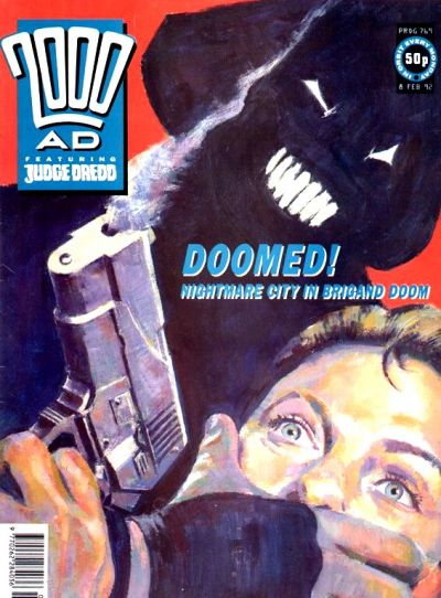 Cover for 2000 AD (Fleetway Publications, 1987 series) #769