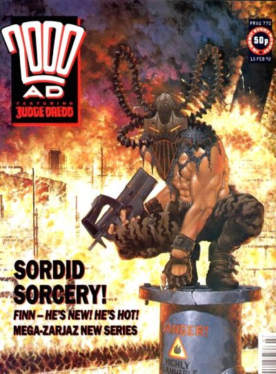 Cover for 2000 AD (Fleetway Publications, 1987 series) #770