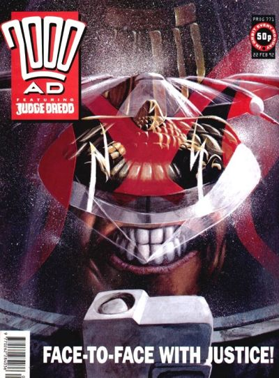 Cover for 2000 AD (Fleetway Publications, 1987 series) #771
