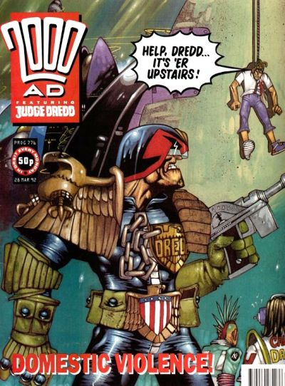 Cover for 2000 AD (Fleetway Publications, 1987 series) #776