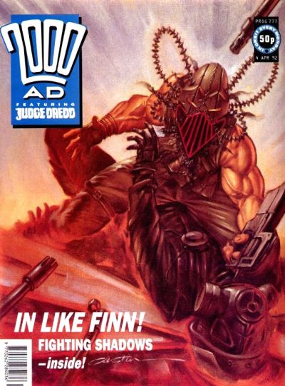 Cover for 2000 AD (Fleetway Publications, 1987 series) #777