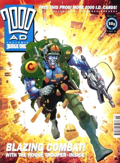 Cover for 2000 AD (Fleetway Publications, 1987 series) #782