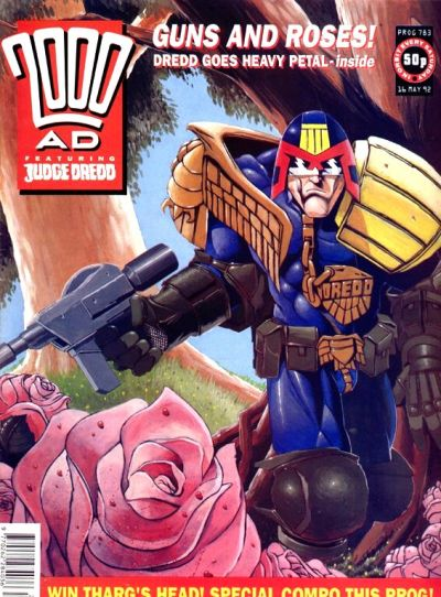 Cover for 2000 AD (Fleetway Publications, 1987 series) #783