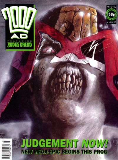 Cover for 2000 AD (Fleetway Publications, 1987 series) #786