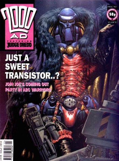 Cover for 2000 AD (Fleetway Publications, 1987 series) #787