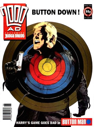 Cover for 2000 AD (Fleetway Publications, 1987 series) #789