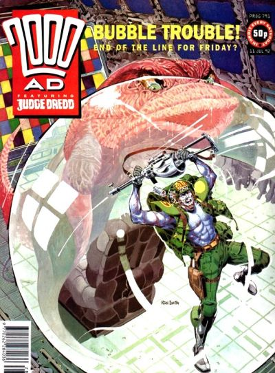 Cover for 2000 AD (Fleetway Publications, 1987 series) #791