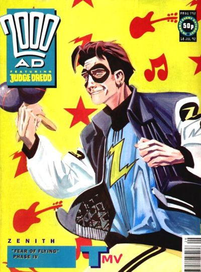 Cover for 2000 AD (Fleetway Publications, 1987 series) #792