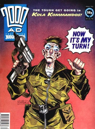 Cover for 2000 AD (Fleetway Publications, 1987 series) #793