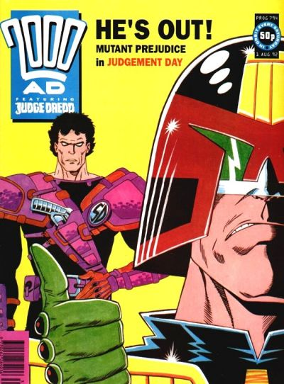Cover for 2000 AD (Fleetway Publications, 1987 series) #794