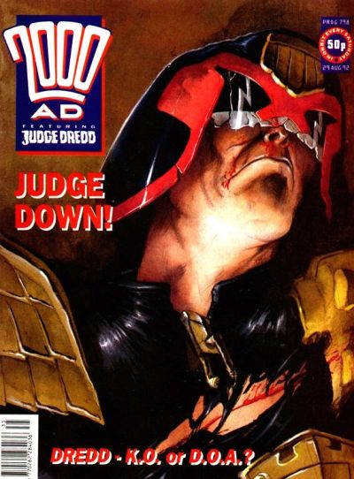 Cover for 2000 AD (Fleetway Publications, 1987 series) #798