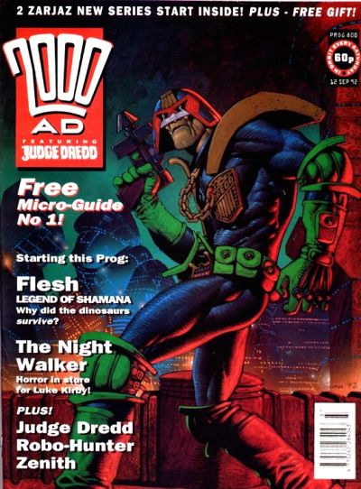 Cover for 2000 AD (Fleetway Publications, 1987 series) #800