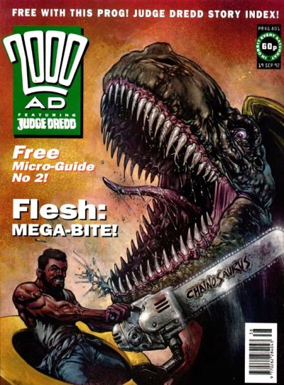 Cover for 2000 AD (Fleetway Publications, 1987 series) #801