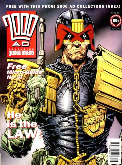 Cover for 2000 AD (Fleetway Publications, 1987 series) #802