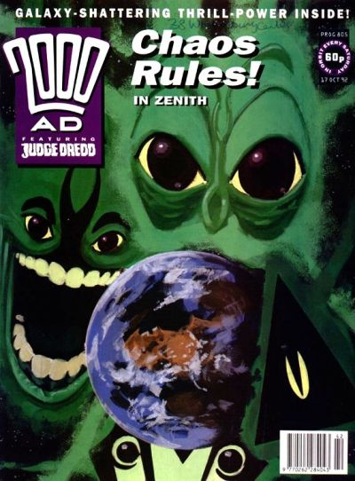 Cover for 2000 AD (Fleetway Publications, 1987 series) #805
